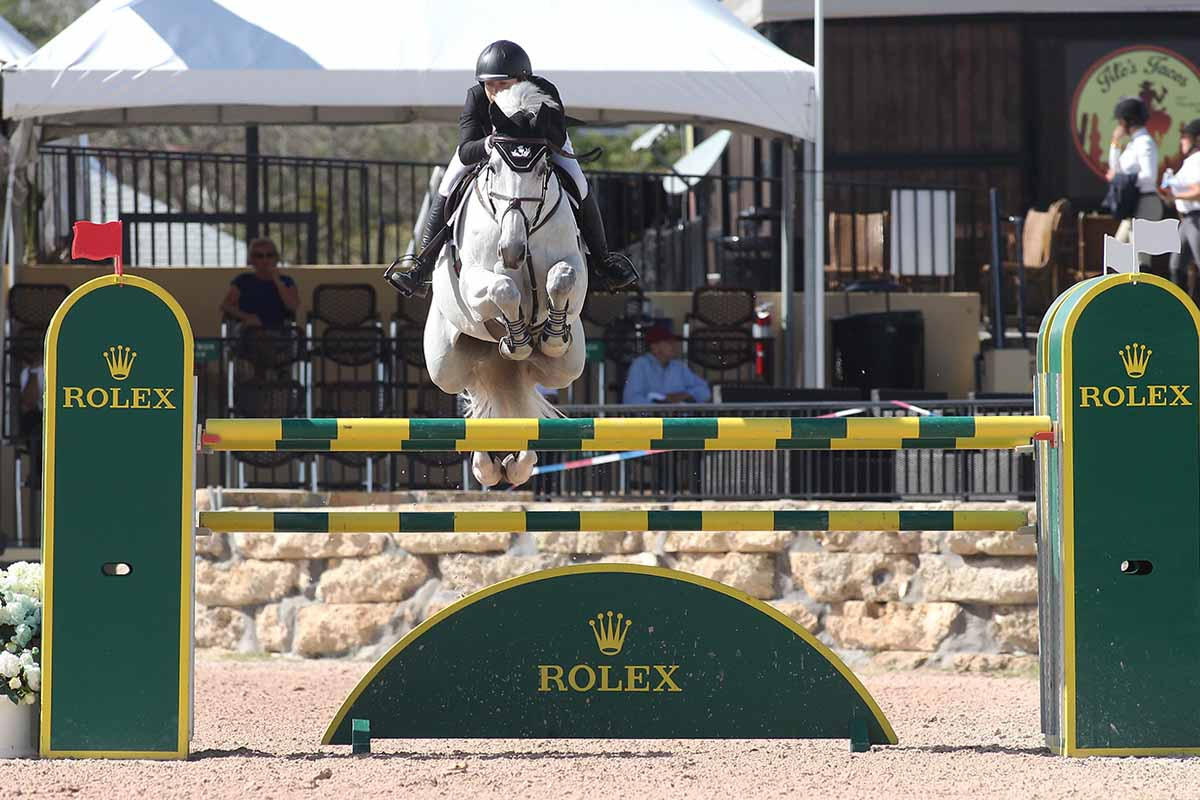 Susan-Horn-and-Balintore-Jump-the-Rolex-Jump-at-WEF